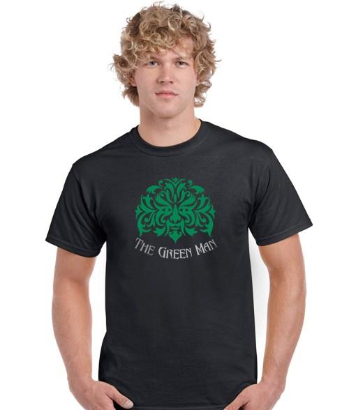 the green man pagan shirt