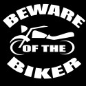 beware of the biker design