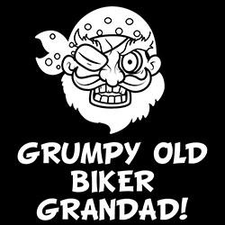 grumpy old biker grandad design