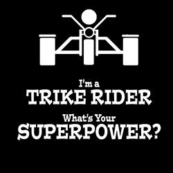 trike rider superpower biker design