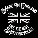 made in england like the best motorcycles biker design