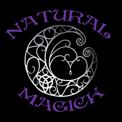 natural magick with fancy moon ladies pagan design