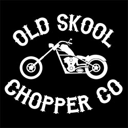 old skool chopper co biker design