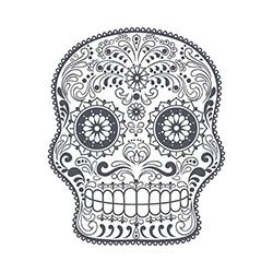 sugar skull design 08