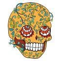 sugar skull design 06