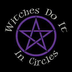 witches do it in circles pagan design
