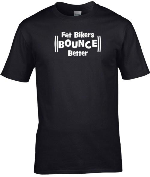 fat bikers bounce better
