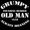 grumpy old man's club funny shirt