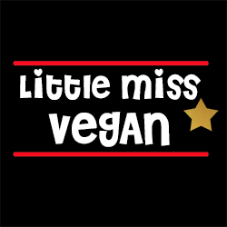 little miss vegan funny ladies top