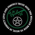 bide the wiccan rede you must pagan shirt