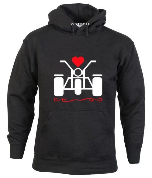 love trikes ladies hoodie