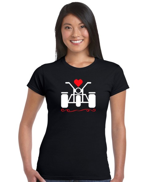 love trikes ladies shirt