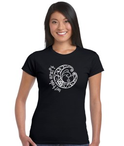 witch craft with pagan fancy moon shirt