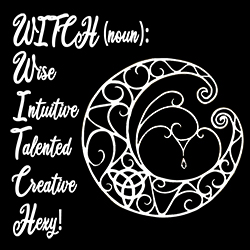witch noun with pentagram ladies pagan design