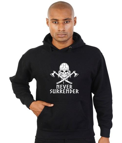 never surrender hoodie