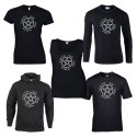 pentacle with elements pagan shirt