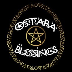 ostara blessings ladies pagan design