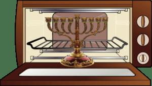 Cleaning Your Chanukah Menorah