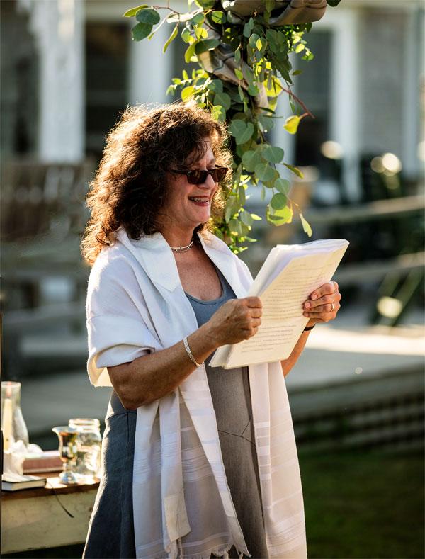 Rabbi Lori Shaller - Under the Hupa
