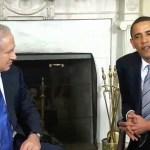 Prime Minister Benjamin Netanyahu and President Barack Obama in the Oval Office