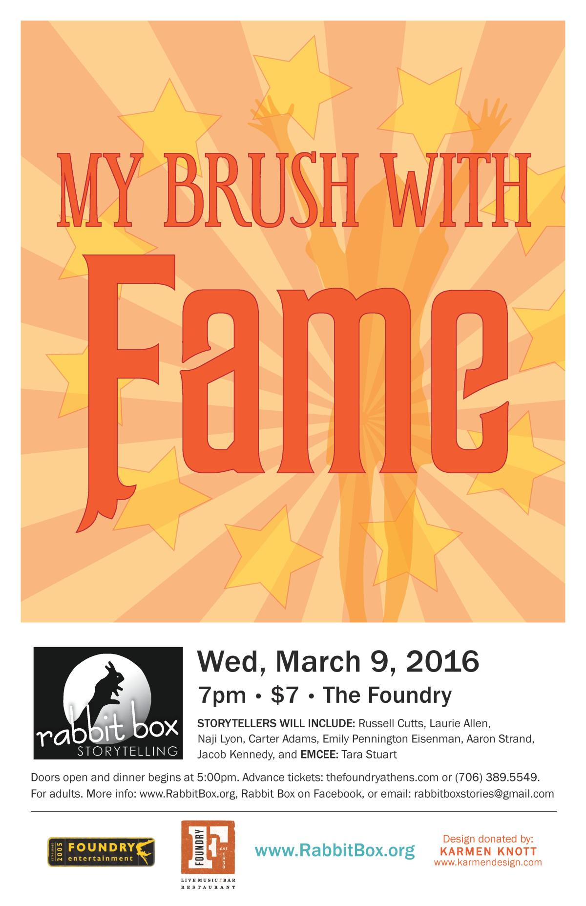 My Brush with Fame-March2016-Poster-page-001