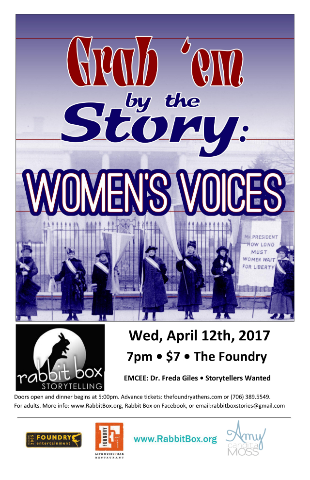 You are currently viewing RB55: Grab 'Em by the Story – Women's Voices