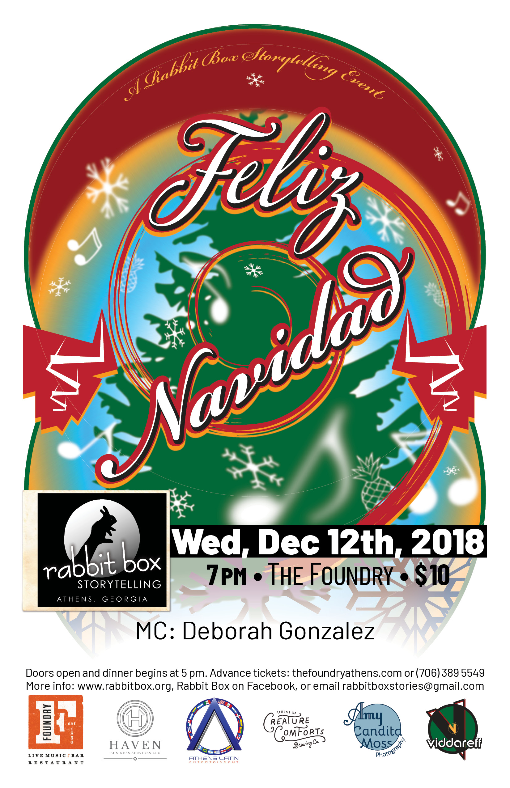 You are currently viewing Feliz Navidad! Merry Christmas! Happy New Year, Y'all!