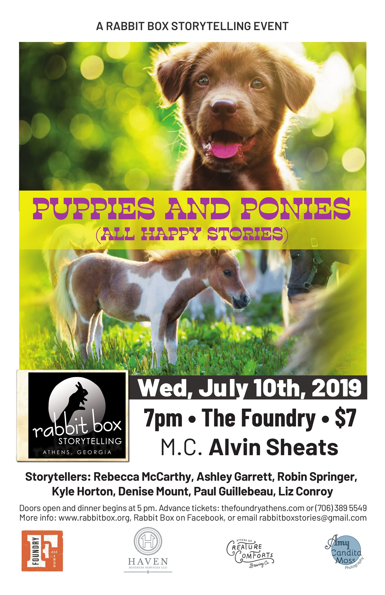 Read more about the article Puppies and Ponies