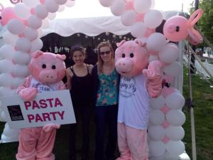 Flying Pig Pasta Party with Stacie