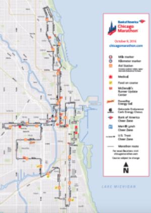 2016 Chicago Marathon Race Recap | Rabbit Food Runner on