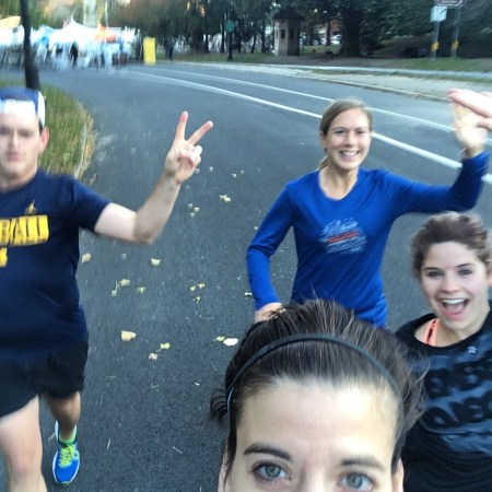 Marathon shakeout!