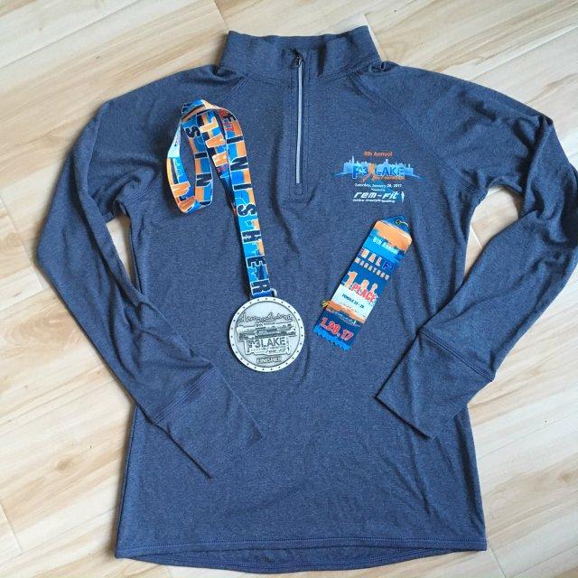 F3 Half Marathon Swag