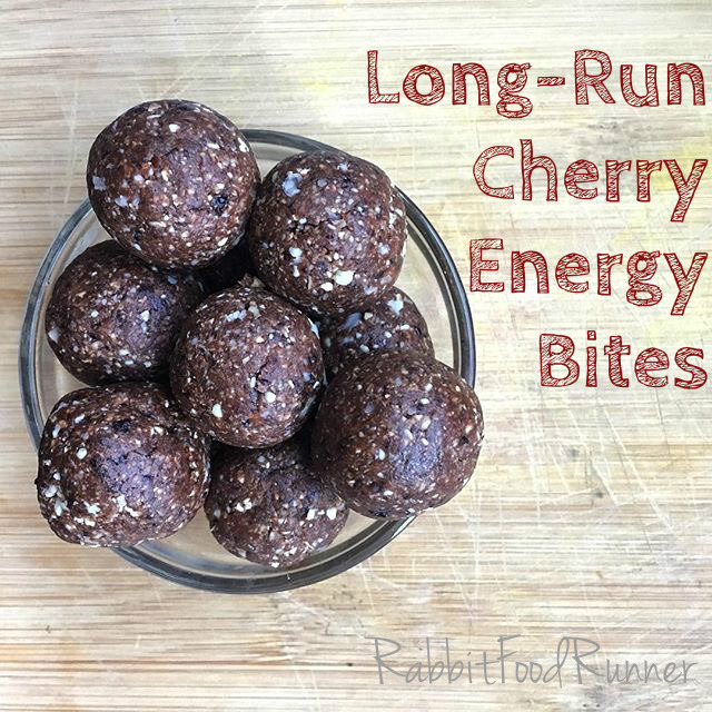 Long-Run Cherry Energy Bites: Vegan Rabbit Food Runner