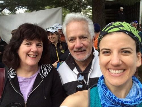 Ice Age 50 mile pre-race selfie