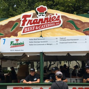 2017 Taste of Chicago Vegan Options Frannie's