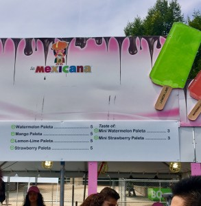 2017 Taste of Chicago Vegan Options Paletas