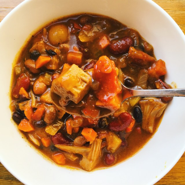 vegan jackfruit chili recipe