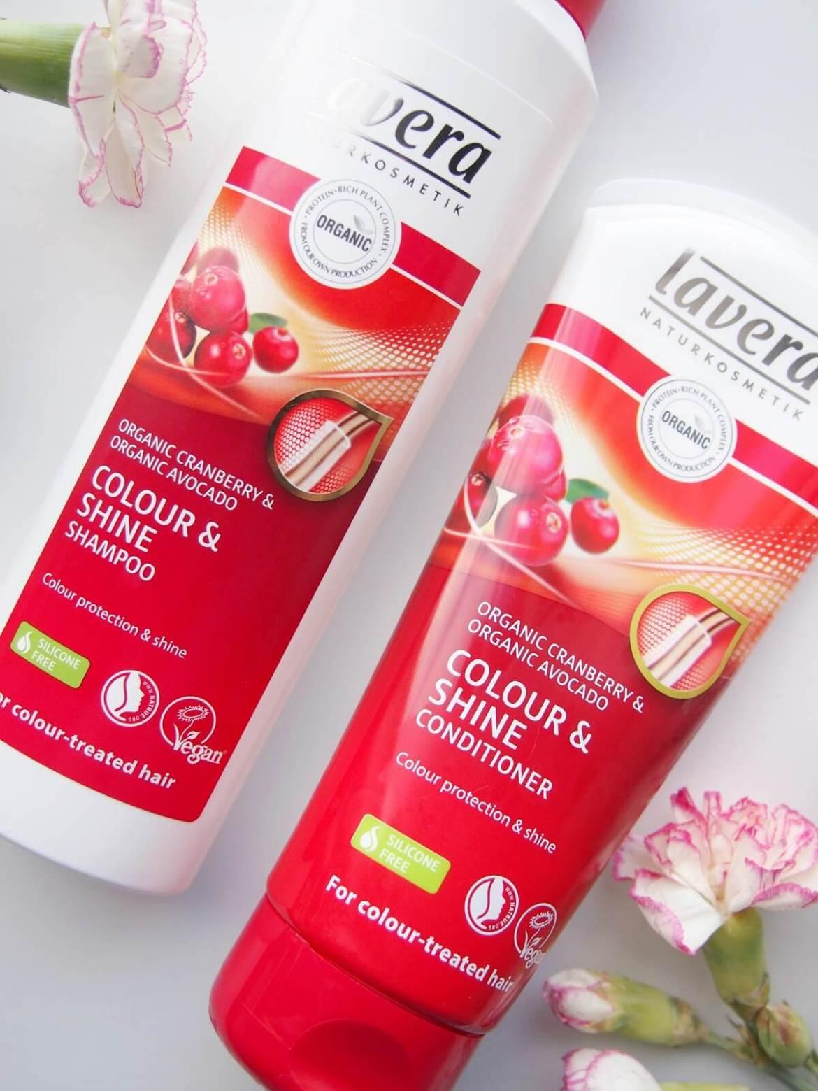 lavera hoitoaine shampoo
