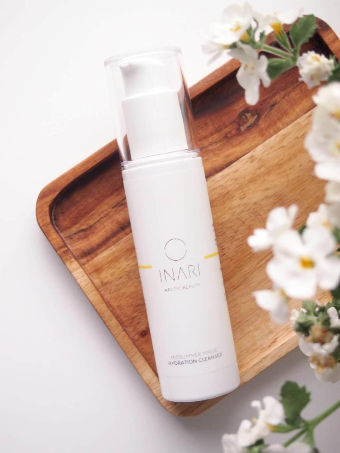 inari cosmetics puhdistusmaito