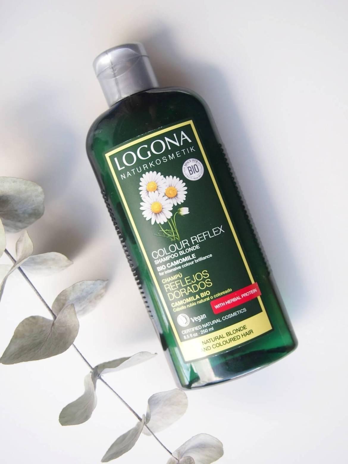 Logonan luonnonkosmetiikan shampoo