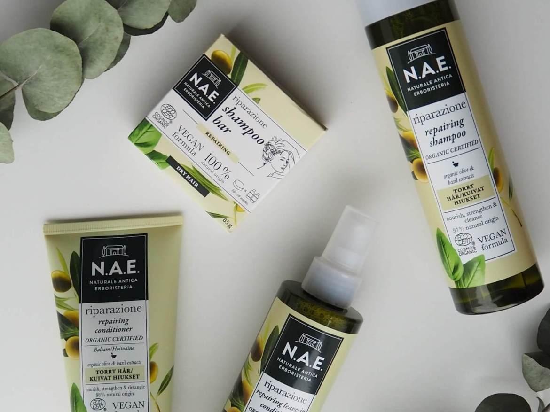 nae cosmetics shampoo ja hoitoaineet