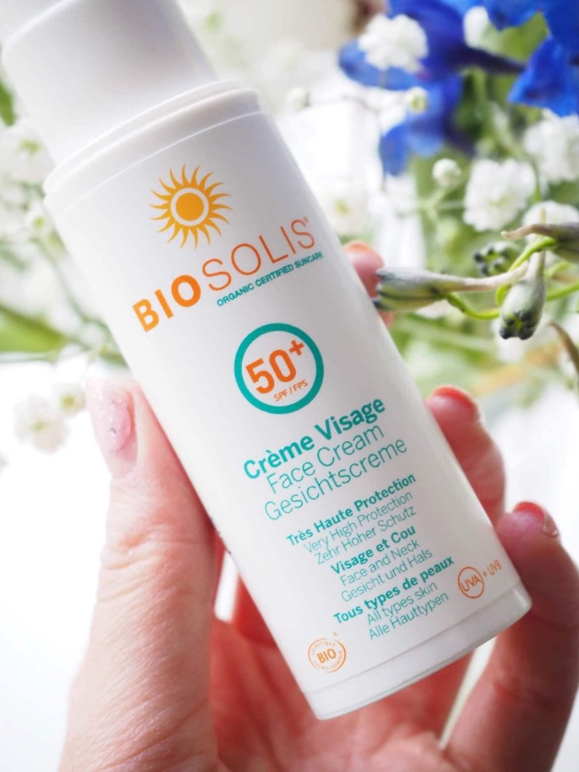 biosolis aurinkovoide kasvoille