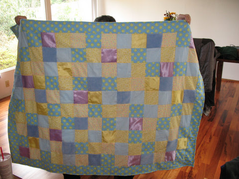 Rebecca's Baby Quilt -- March 2009