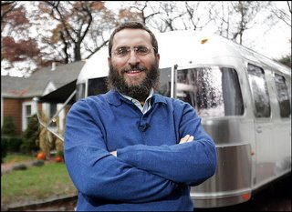 shmuley with camper