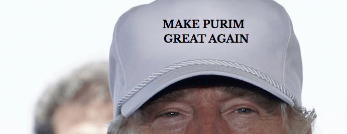 make purim great again hat