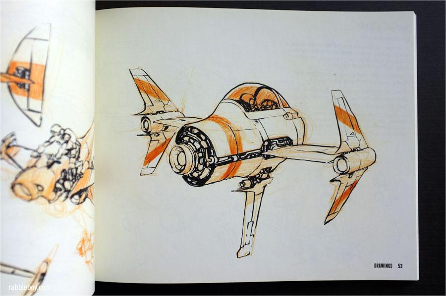 jake parker drawings  book review - rabbleboy
