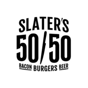 Slaters 50 50 Logo
