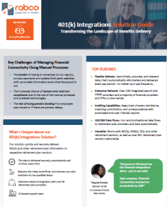 EB Financial Integration