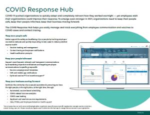 Covid Response Hub