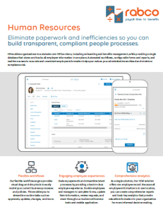HR Tools Key Benefits